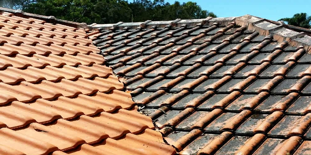 Roof pressure cleaning gold coast improving the value Sparkling image roof exterior cleaning